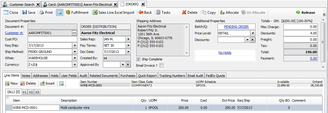 Fulfillment Plugin Serial and Lot User Fields in Available to Pick