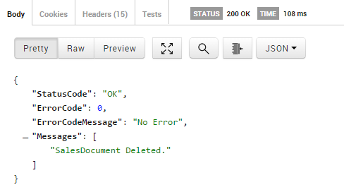 Web API Example Usage with Postman - SalesPad Support