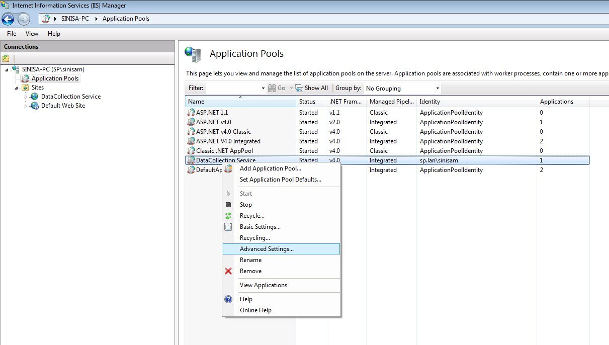 IIS Configuration and Web Service Setup - SalesPad Support