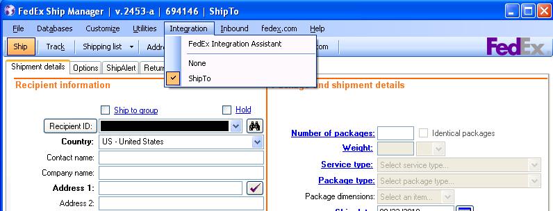FedEx Ship Manager Setup - SalesPad Support